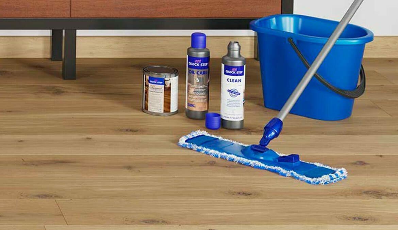 mantenimiento y limpieza Quick Step