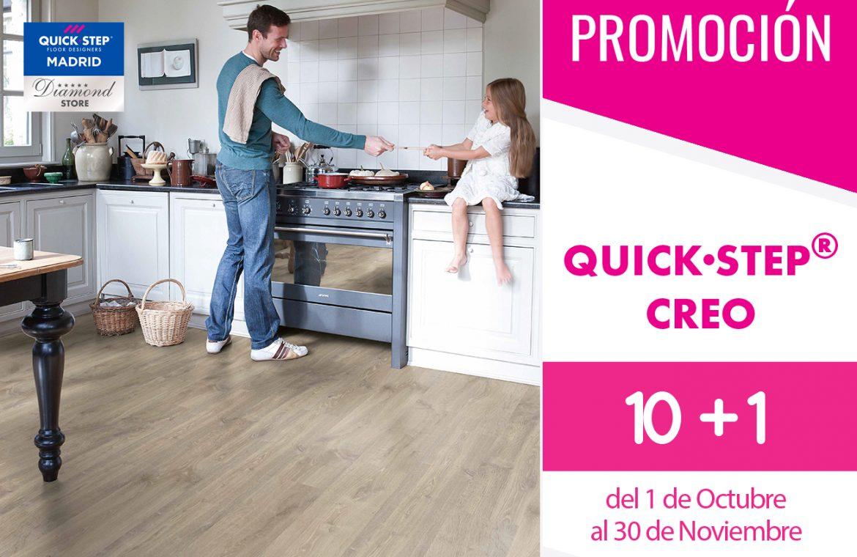 Promoción en la serie CREO de Quick - Step