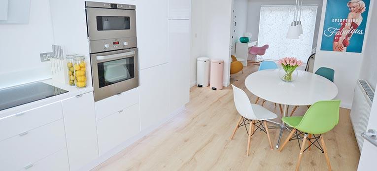 El mejor suelo para una cocina nueva