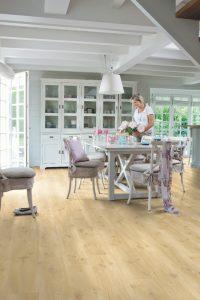suelos para cocinas abiertas