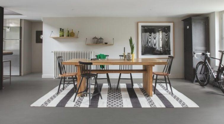 suelos de color gris en tu hogar