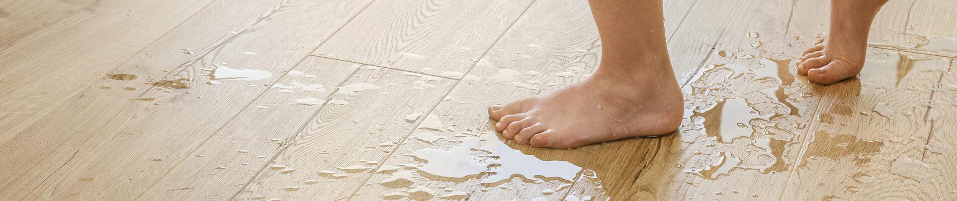 suelo de la cocina