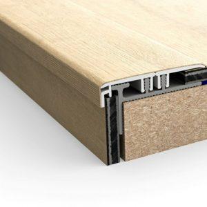 NEVINCPBASE1 Subperfil de aluminio Incizo para escaleras