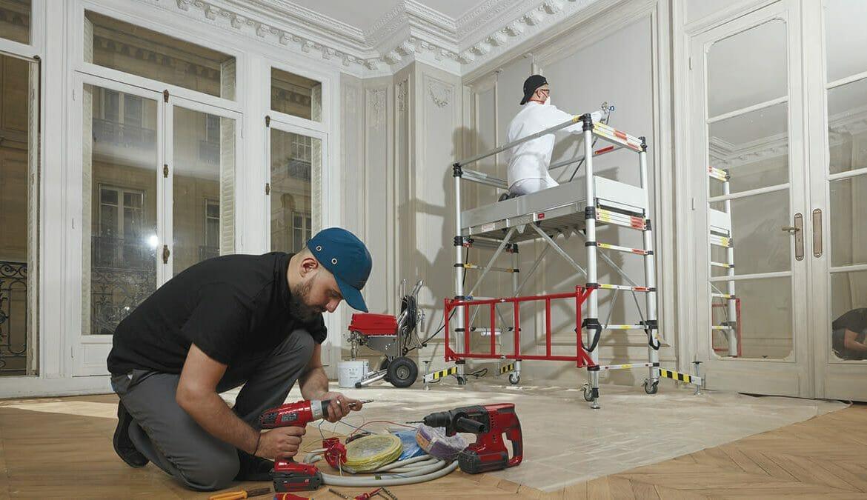 Reforma Quick Step Madrid casa segunda mano