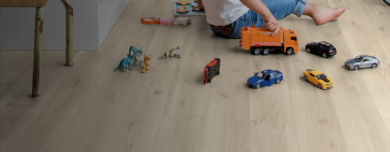 suelos Quick Step dormitorio infantil