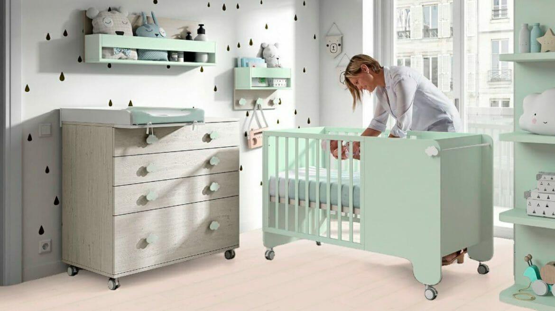 habitación bebé Quick Step Madrid